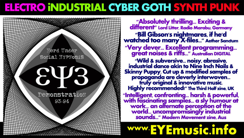 Eye dark alternative electro industrial cyber gothic for Best 80s house music